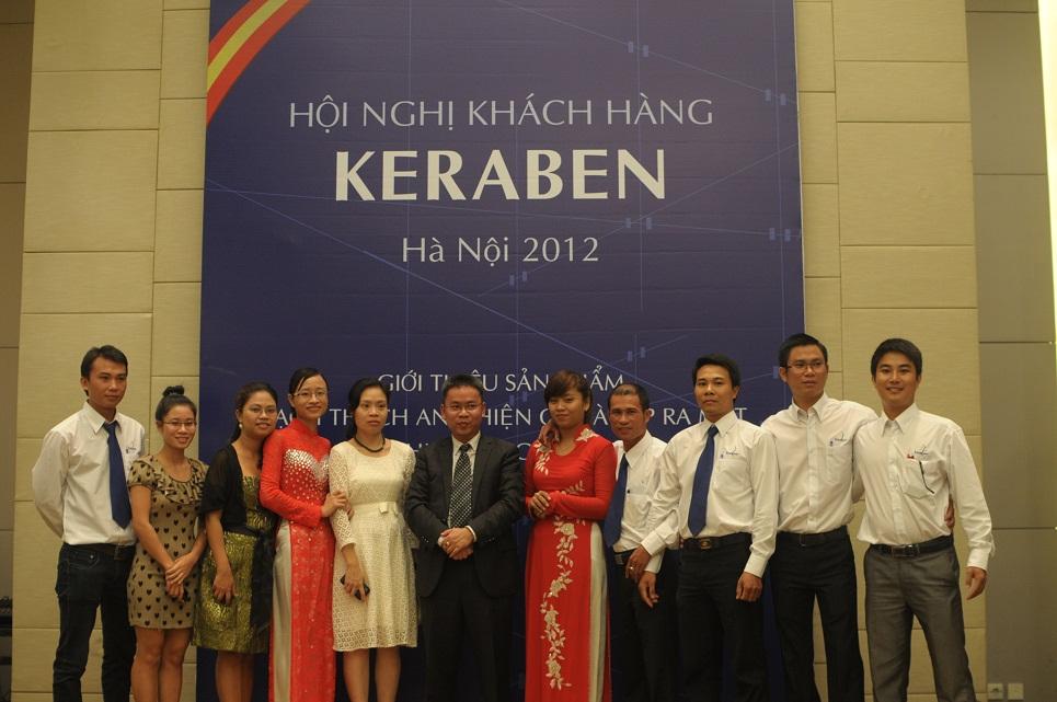 Keraben Việt Nam giới thiệu sản phẩm mới